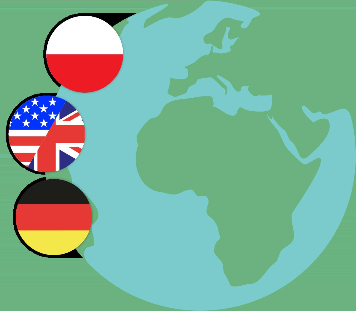 Übersetzte Sprachen